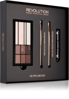 Makeup Revolution Pro HD Brows καλλυντικό σετ I.