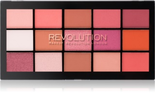 Makeup Revolution Re-Loaded paleta očných tieňov