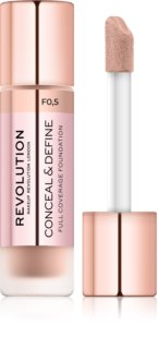 Makeup Revolution Conceal & Define High Cover Foundation