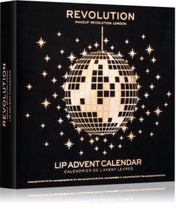 Makeup Revolution Lip Advent Calendar kalendarz adwentowy