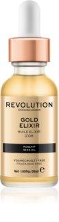 Makeup Revolution Skincare Gold Elixir еліксир для шкіри з екстрактом шипшини