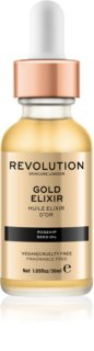 Makeup Revolution Skincare Gold Elixir Skin Elixir With Rosehip Oil