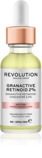 Makeup Revolution Skincare Granactive Retinoid 2% sérum para corrigir o tom da pele