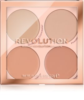 Makeup Revolution Matte Base paleta korektorjev