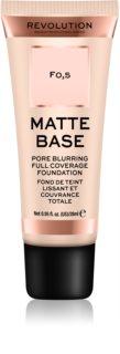 Makeup Revolution Matte Base base corretora de imperfeições