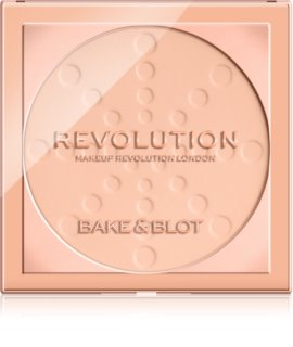 Makeup Revolution Bake & Blot pó fixador