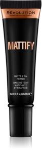 Makeup Revolution Mattify primer de maquilhagem matificante
