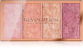 Makeup Revolution Vintage Lace παλέτα με ρουζ
