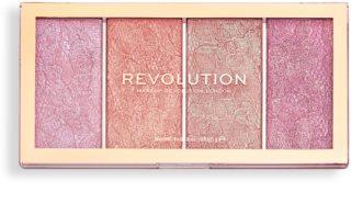 Makeup Revolution Vintage Lace paleta de blushes