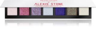 Makeup Revolution X Alexis Stone Lidschattenpalette für schimmernden Glanz