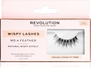 Makeup Revolution False Lashes Wispy nalepovací řasy