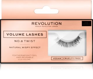 Makeup Revolution False Lashes Volume trepavice za lijepljenje
