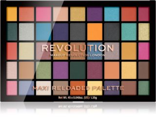 Makeup Revolution Maxi Reloaded Palette палетка пудрових тіней для повік