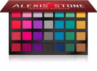 Makeup Revolution X Alexis Stone paleta sjenila za oči s mat efektom