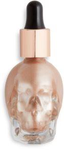 Makeup Revolution Skull iluminator lichid cu picurător