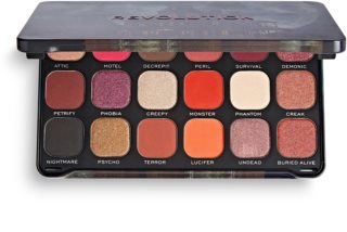 Makeup Revolution Halloween Eyeshadow Palette paletă cu farduri de ochi