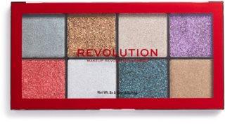 Makeup Revolution Halloween Glitter Palette paletă cu farduri cu sclipici