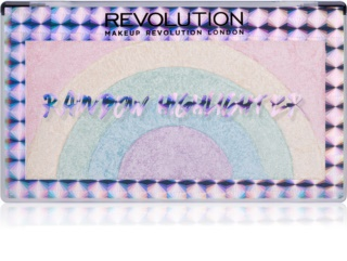 Makeup Revolution Rainbow iluminador