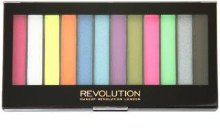 Makeup Revolution Acid Brights paleta očních stínů