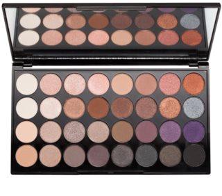 Makeup Revolution Affirmation paleta senčil za oči z ogledalom