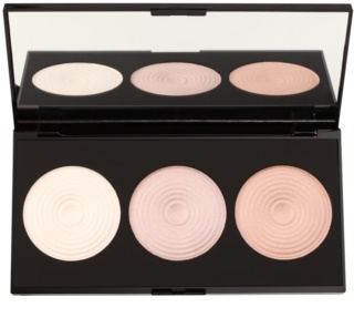 Makeup Revolution Beyond Radiance Highlighter Palette With Mirror