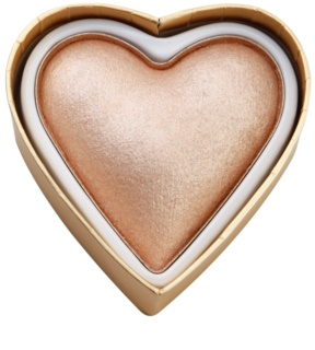 Makeup Revolution I ¦ Makeup Blushing Hearts λαμπρυντική πούδρα