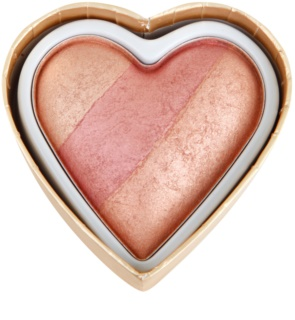 Makeup Revolution I ♥ Makeup Blushing Hearts компактні рум'яна