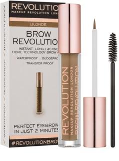 Makeup Revolution Brow Revolution przezroczysty żel do brwi