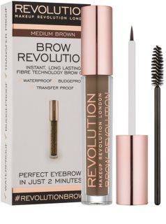 Makeup Revolution Brow Revolution fixačný gél na obočie