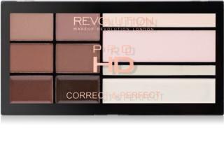 Makeup Revolution Pro HD Brows Palette For Eyebrows Make - Up