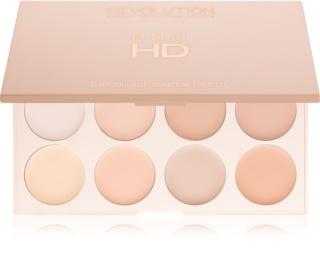 Makeup Revolution Pro HD Camouflage палитра коректори