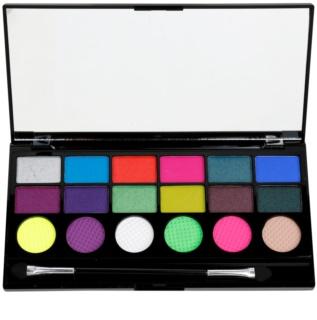 Makeup Revolution Colour Chaos paleta očných tieňov