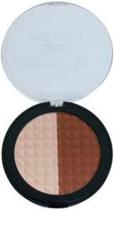 Makeup Revolution Duo Bronzer and Highlighter 2 In 1
