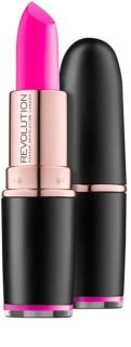 Makeup Revolution Iconic Pro rúzs matt hatással
