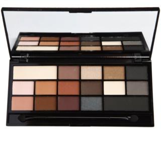 Makeup Revolution I ♥ Makeup Black Velvet paleta očných tieňov