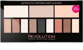 Makeup Revolution Ultra Eye Contour paleta para contorno de olhos
