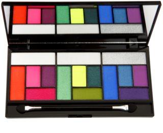 Makeup Revolution Pro Looks Eat Sleep Makeup Repeat палитра от сенки за очи