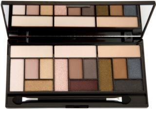 Makeup Revolution Pro Looks Stripped & Bare szemhéjfesték paletták