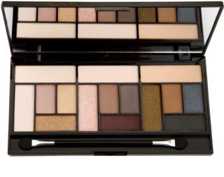 Makeup Revolution Pro Looks Stripped & Bare paleta očních stínů