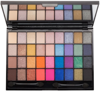 Makeup Revolution I ♥ Makeup Makeup Geek Eye Shadow Palette With Mirror And Applicator