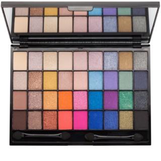 Makeup Revolution I ♥ Makeup Makeup Geek szemhéjfesték paletták tükörrel és aplikátorral
