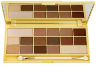 Makeup Revolution I ♥ Makeup Naked Chocolate zázračná paleta očních stínů