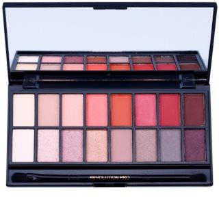 Makeup Revolution New-Trals vs Neutrals paleta senčil za oči z ogledalom in aplikatorjem