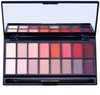Makeup Revolution New-Trals vs Neutrals Palette mit Lidschatten inkl. Spiegel und Pinsel