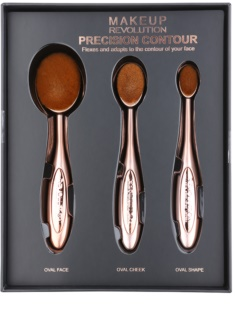 Makeup Revolution Pro Precision Brush set kistova za konturiranje