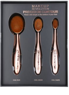 Makeup Revolution Pro Precision Brush Contour Penseel Set