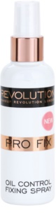 Makeup Revolution Pro Fix mattító fixáló spray a make-upra