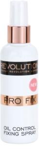 Makeup Revolution Pro Fix matirajoče pršilo za fiksiranje make-upa