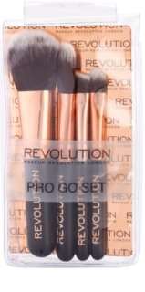 Makeup Revolution Pro Go Set Mini Penselen Set  Travelpack
