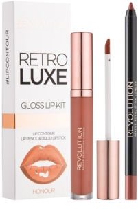 Makeup Revolution Retro Luxe sada na rty